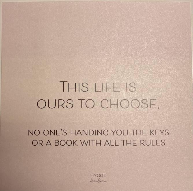Bilde av this life is ours