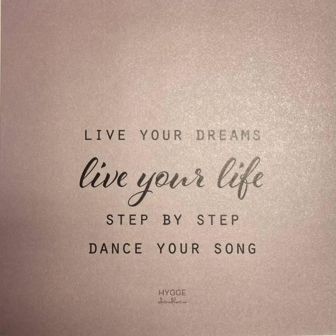 Bilde av Live your dreams