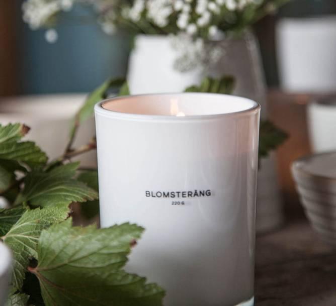 Bilde av blomsterang duftlys